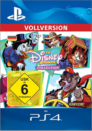 PS4: The Disney Afternoon Collection