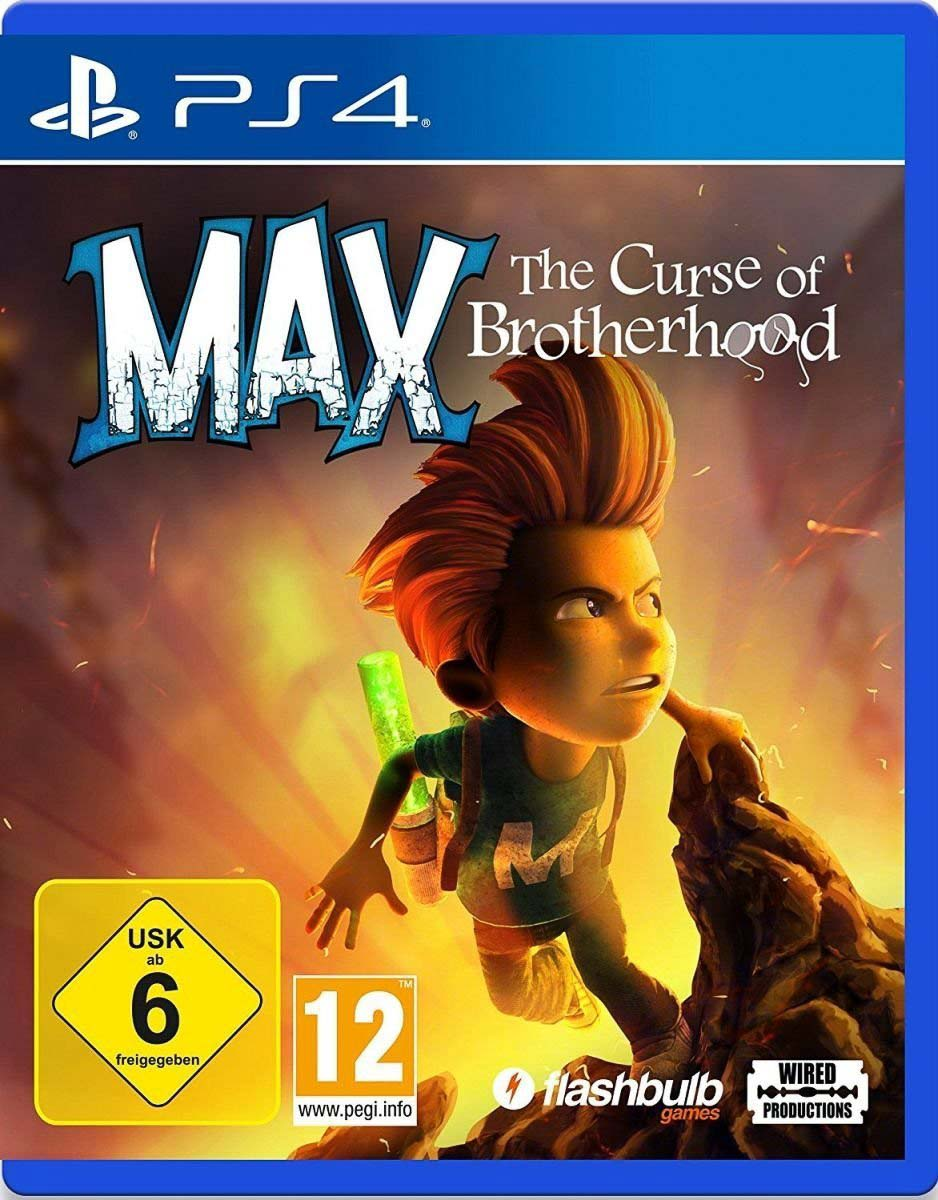 Switch: Max: The Curse Of Brotherhood (Flashbulb games/Wired Productios/Eurovideo)