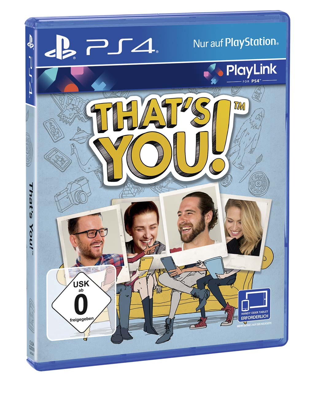 PS4: That's you (Sony)